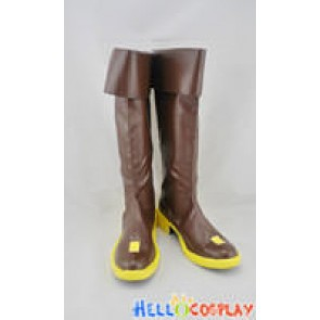 Vocaloid 2 Cosplay Kaito Boots Brown