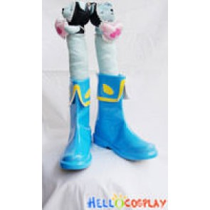 Cardcaptor Sakura Cosplay Shoes Syaoran Li Boots Blue