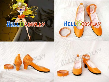Sailor Moon Minako Aino Sailor Venus Cosplay Shoes