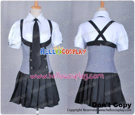 Inu x Boku SS Ririchiyo Shirakiin Cosplay Costume School Uniform