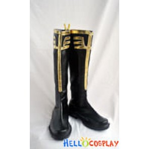 Gundam Series Char Aznable Cosplay Boots