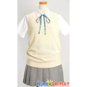 K-On Cosplay School Girl Summer Uniform