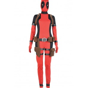 Deadpool Lady Deadpool Wanda Wilson Cosplay Costume