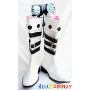 Mabinogi Cosplay White Boots