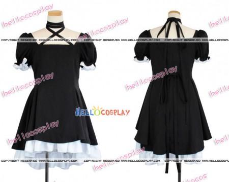 Rewrite Cosplay Costume Kagari Dress