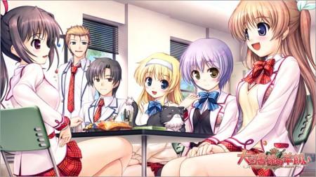 Daitoshokan No Hitsujikai Cosplay School Girl Uniform