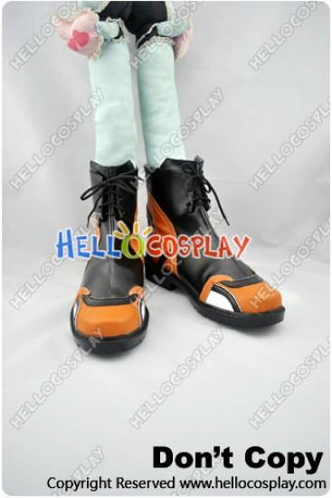 Chrome Shelled Regios Cosplay Layfon Wolfstein Alseif Shoes