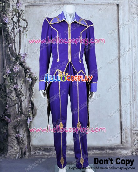 Code Geass Lelouch Of The Rebellion Cosplay Zero Costume