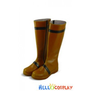 Pokemon Cosplay Shoes Gary Oak Boots