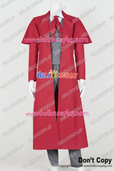 Hellsing Cosplay Alucard Costume Uniform