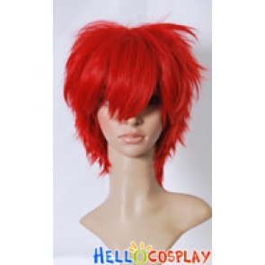 Vocaloid Kaito Cosplay Red Wig