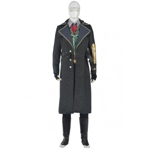 Assassins Creed Syndicate Cosplay Jacob Frye Costume Uniform New