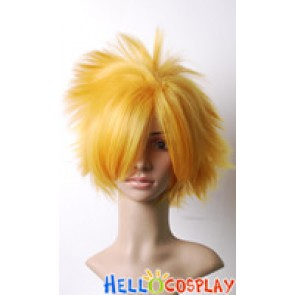 Vocaloid Sandplay Singing Of The Dragon Len Kagamine Cosplay Wig