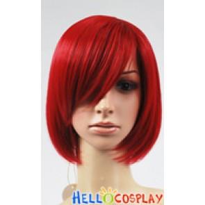Red BoBo Cosplay Short Wig