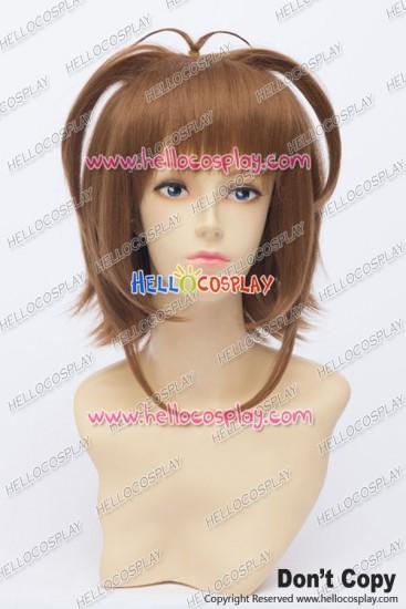 Cardcaptor Sakura Cosplay Sakura Kinomoto Wig Short Yellow