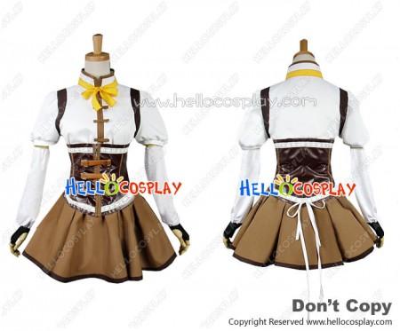 Puella Magi Madoka Magica Cosplay Tomoe Mami Uniform Costume