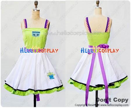 Toy Story Buzz Lightyear Cosplay Costume Dress