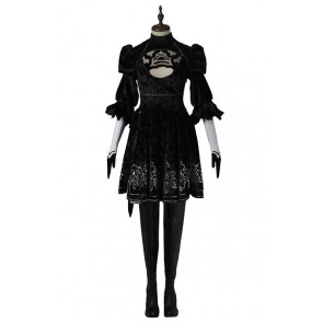 Nier Automata 2B Cosplay Costume Uniform