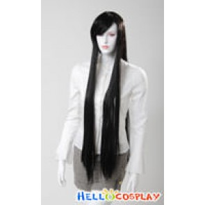 Cosplay Black Long Wig