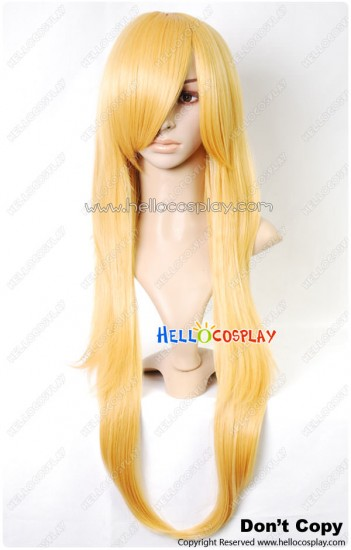 Vocaloid 2 Cosplay Rin Kagamine Long Wig