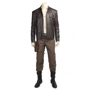 Star Wars: The Last Jedi Poe Dameron Cosplay Costume