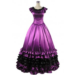 Victorian Lolita Sweet Belle Violet Gothic Lolita Dress
