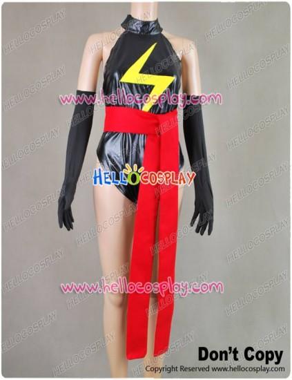Captain Marvel Ms.Marvel Jumpsuit Cosplay Costume