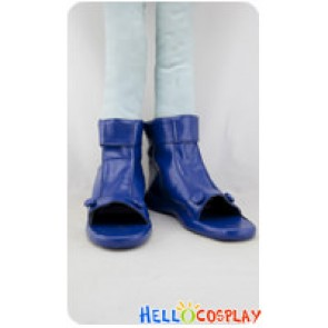 Naruto Cosplay Shoes Uzumaki Naruto Blue Pleather Shoes
