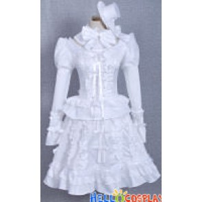 Pandora Hearts Cosplay Sharon Rainsworth White Dress