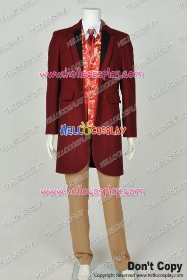 Django Unchained Monsieur Calvin J Candie Trench Coat Cosplay Costume