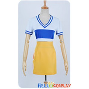 One Piece Cosplay Nami Plain Dress Costume