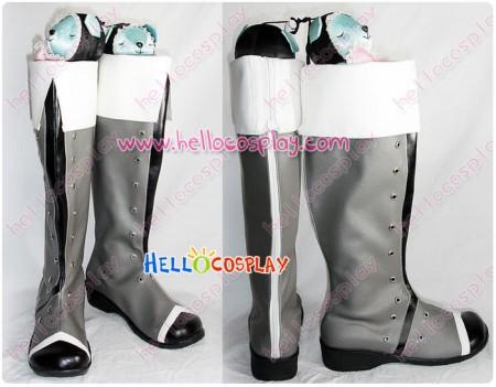 Tales Of Vesperia Cosplay Yuri Lowell Boots Grey Version