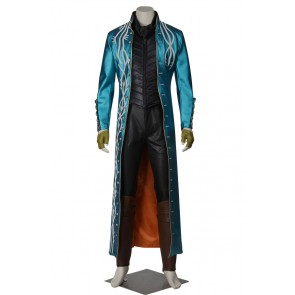 Devil May Cry 3 Dantes Awakening Vergil Cosplay Costume