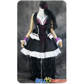 Macross Frontier Cosplay Sheryl Nome Queen Poster Dress Costume