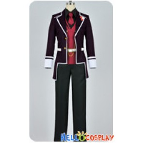Diabolik Lovers Cosplay Reiji Sakamaki Purple Uniform Costume
