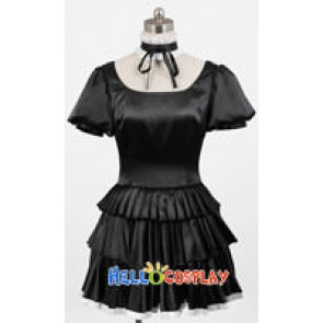 Beelzebub Cosplay Hildegarde Black Dress