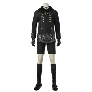 Nier Automata YoRHa No. 9 Type S Cosplay Costume