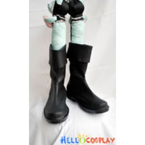 One Piece Cosplay Roronoa Zoro Black Short Boots