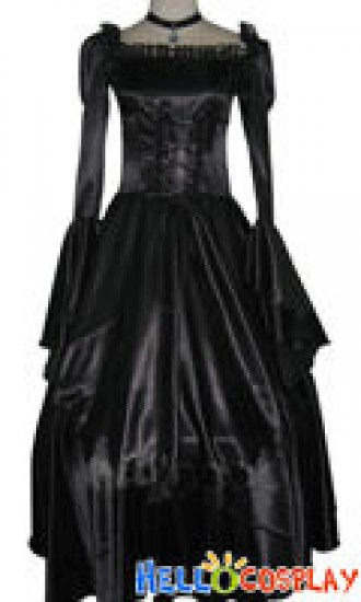 Code Geass Cosplay C.C Black Dress