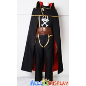 Galaxy Express 999 Cosplay Captain Harlock Costume