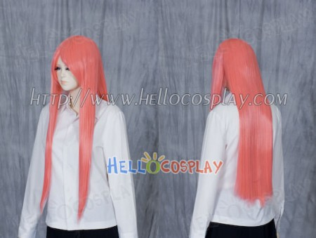 Orange Medium Cosplay Straight Wig