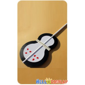 Naruto Cosplay Tobi Fan Weapon Black Prop