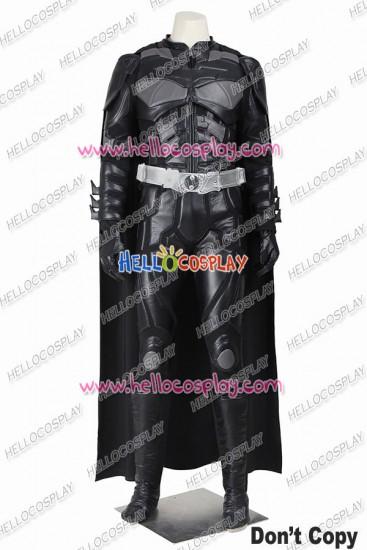 Batman The Dark Knight Rises Bruce Wayne Cosplay Costume