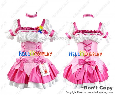 Pretty Cure Cosplay Cure Peach Costume Dress