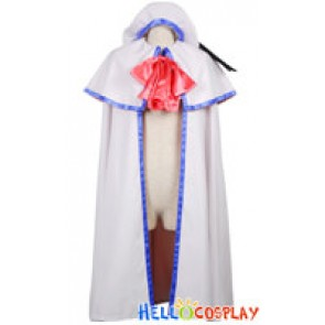Little Busters Cosplay Kudryavka Noumi Cloak Hat Costume