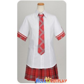 Daitoshokan No Hitsujikai Cosplay Tsugumi Shirasaki Summer Uniform Costume