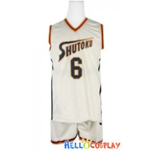 Kuroko Basketball Cosplay Midorima Shintaro Basketball Uniform
