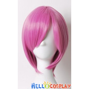 Pink 003 Short Cosplay Wig