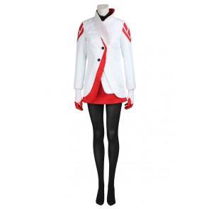 Pokemon GO Candela Female Red Cosplay Costume