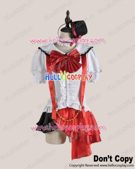 Love Live School Idol Project Field Of View Cosplay Maki Nishikino Costume